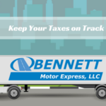 Keep Taxes on Track for Owner Operators and Drivers
